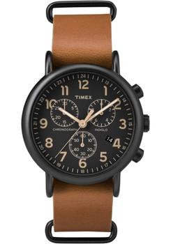 Timex Weekender Chrono Black Tan (TW2P97500ZA)