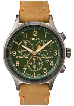 Timex Expedition Scout Chrono Green Tan (TW4B04400)