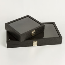 Black Box with Glass Lid