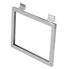 "5-1/2"" x 7"" Sign Holder for Slatwall"