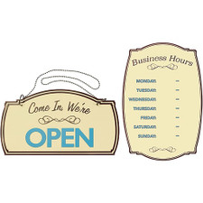 Boutique Open/Close and Business Hours kit