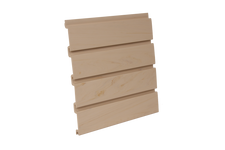 Maple PVC Slatwall