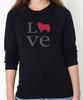 Unisex Love Collie Sweatshirt