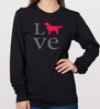 Unisex Long Sleeve LOVE Golden T-Shirt