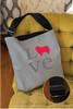 Love Collie Adjustable Tote Bag
