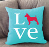 Jack Russell Love Pillow