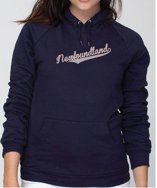 Righteous Hound - Unisex Varsity Newfoundland Hoodie