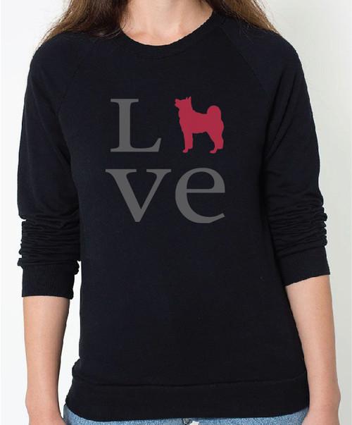 Unisex Love Akita Sweatshirt