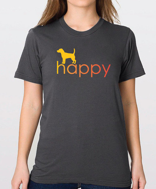 Righteous Hound - Unisex Happy Beagle T-Shirt