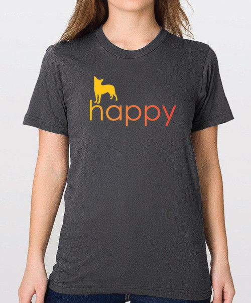 Righteous Hound - Unisex Happy Chihuahua T-Shirt