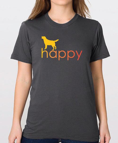 Righteous Hound - Unisex Happy Lab T-Shirt