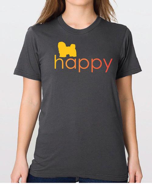 Righteous Hound - Unisex Happy Havanese T-Shirt