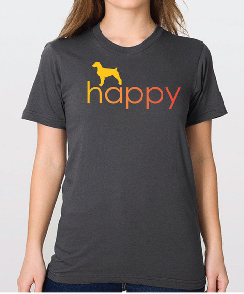 Righteous Hound - Unisex Happy Brittany T-Shirt