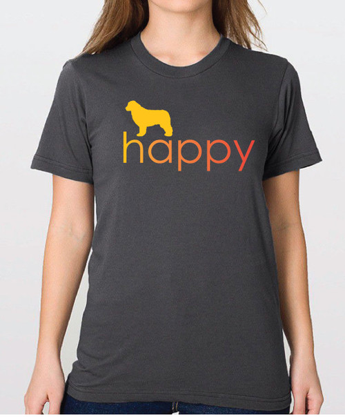 Righteous Hound - Unisex Happy Newfoundland T-Shirt