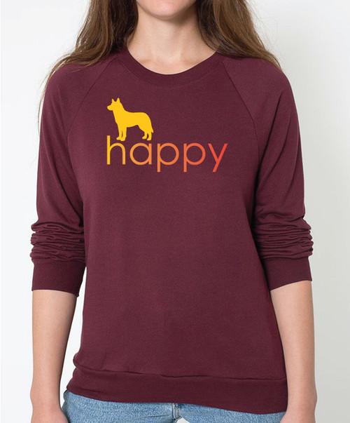 Righteous Hound - Unisex Happy Husky Sweatshirt