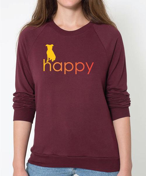 Righteous Hound - Unisex Happy Pitbull Sweatshirt