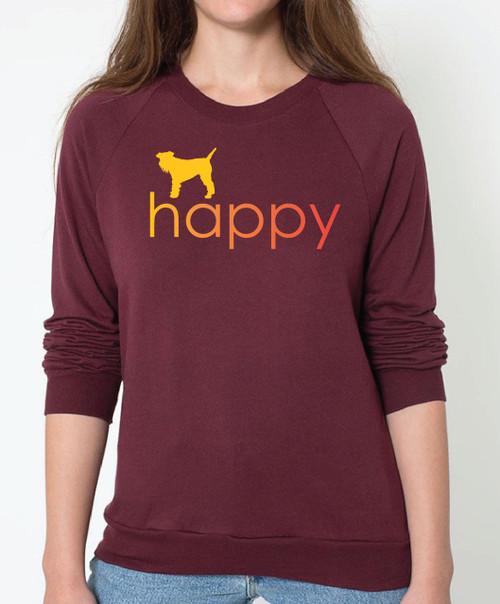 Righteous Hound - Unisex Happy Schnauzer Sweatshirt