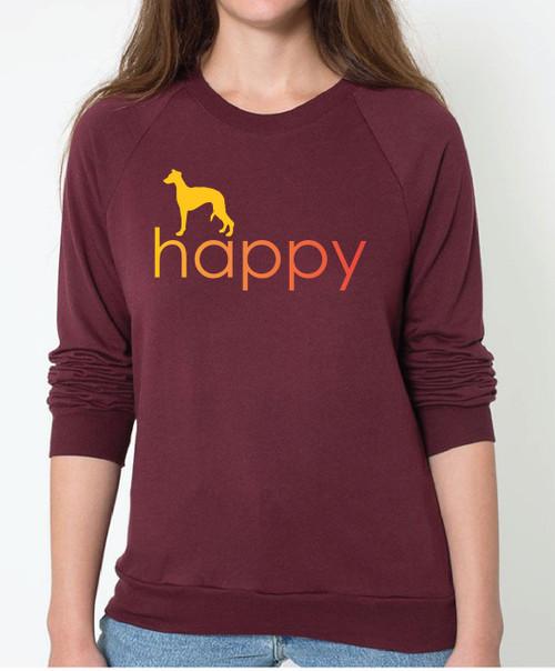 Unisex Happy Whippet Sweatshirt
