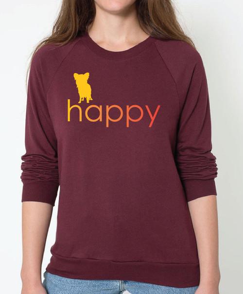Righteous Hound - Unisex Happy Papillon Sweatshirt