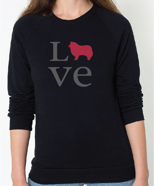 Unisex Love Collie Sweatshirt