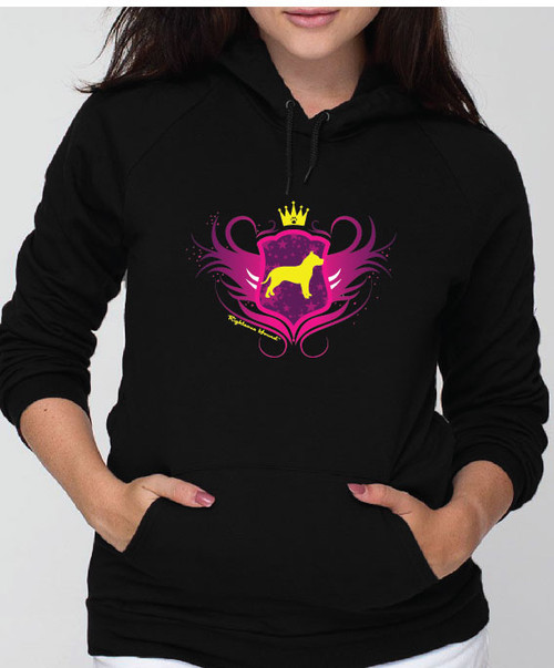 Righteous Hound - Unisex Noble Pitbull Hoodie