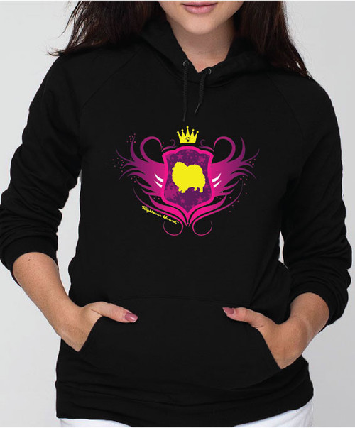 Righteous Hound - Unisex Noble Pomeranian Hoodie