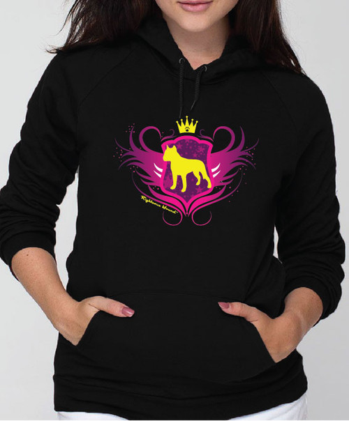 Righteous Hound - Unisex Noble Staffordshire Terrier Hoodie