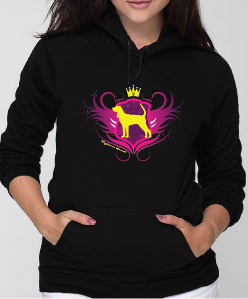 Righteous Hound - Unisex Noble Coonhound Hoodie