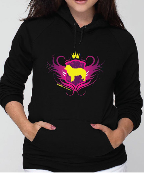 Righteous Hound - Unisex Noble Border Collie Hoodie