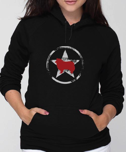 Unisex Allstar Collie Hoodie
