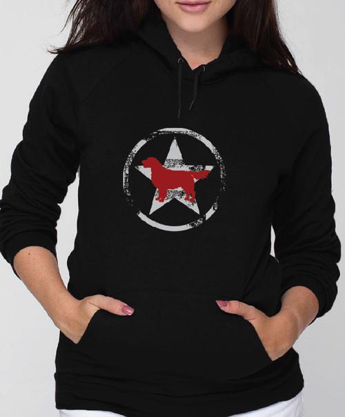 Unisex Allstar Golden Retriever Hoodie