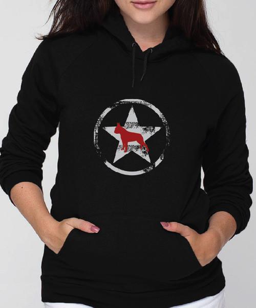 Unisex Allstar Boston Terrier Hoodie