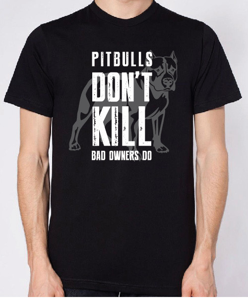 Pitbulls Don't Kill Unisex T-Shirt