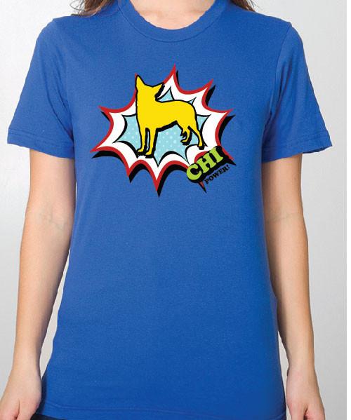 Unisex Comic Chihuahua T-Shirt