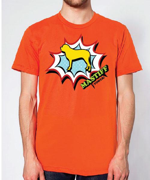 Righteous Hound - Unisex Comic Mastiff T-Shirt