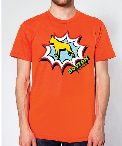 Righteous Hound - Unisex Comic Boston Terrier T-Shirt