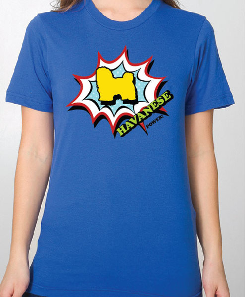 Unisex Comic Havanese T-Shirt