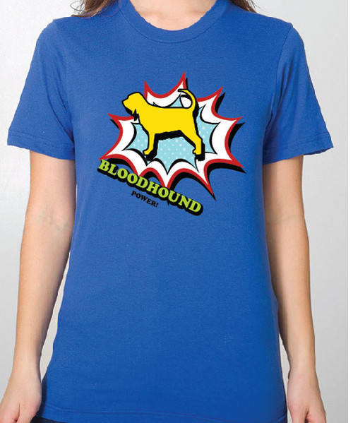 Unisex Comic Bloodhound T-Shirt