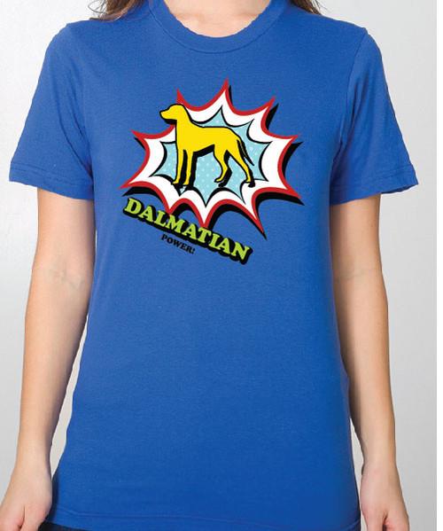Unisex Comic Dalmatian T-Shirt
