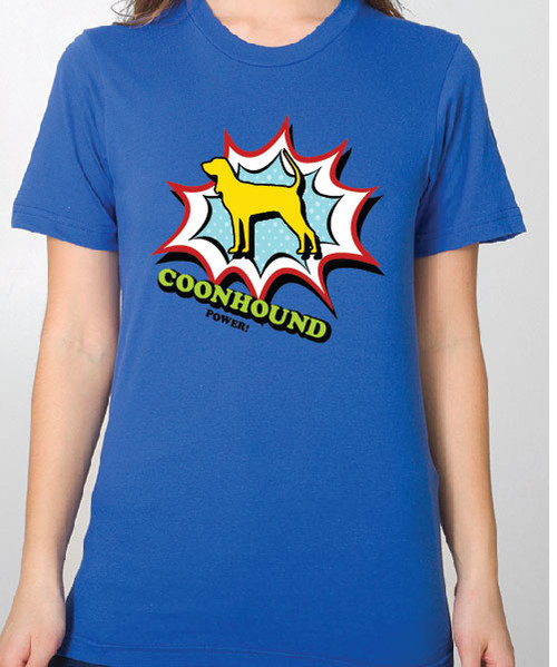 Unisex Comic Coonhound T-Shirt