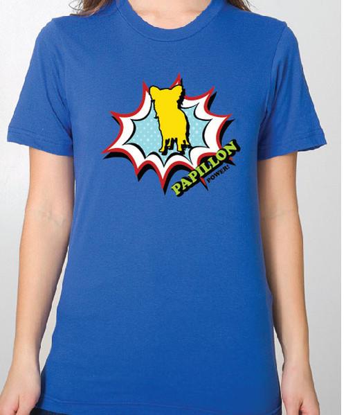 Unisex Comic Papillon T-Shirt
