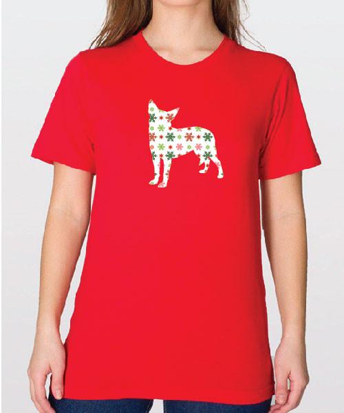 Unisex Holiday Chihuahua T-Shirt