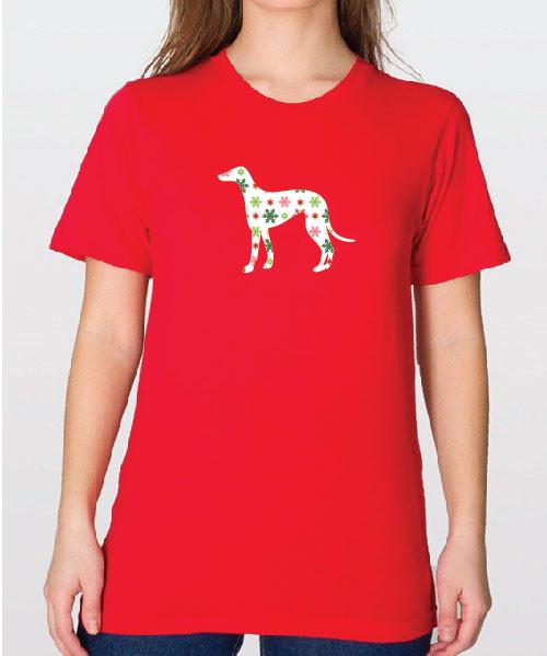 Unisex Holiday Greyhound T-Shirt