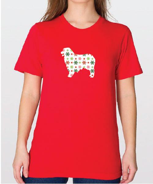 Unisex Holiday Australian Shepherd T-Shirt