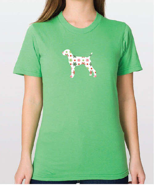 Righteous Hound - Unisex Holiday Vizsla T-Shirt