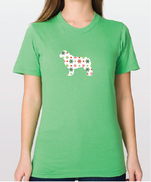 Righteous Hound - Unisex Holiday Newfoundland T-Shirt