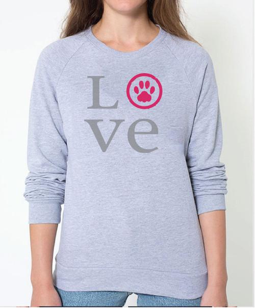 Unisex Love Pullover Sweatshirt