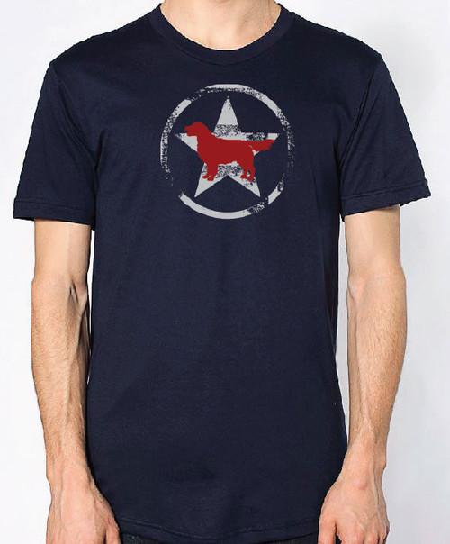 Righteous Hound - Unisex AllStar Golden Retriever T-Shirt