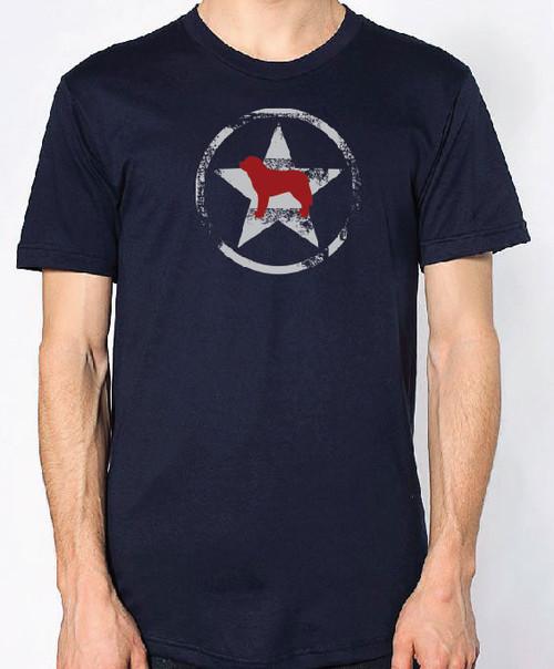 Righteous Hound - Unisex AllStar Saint Bernard T-Shirt