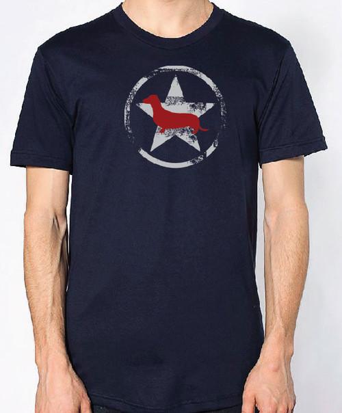 Righteous Hound - Unisex AllStar Dachshund T-Shirt